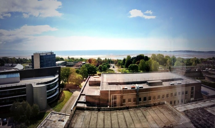 View from Penmaen student accommodation (pic via @J_Thornie)