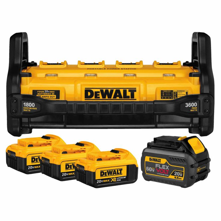 Dewalt DCB1800M3T1, 1800 Watt Portable Power Station Kit  http://cf-t.com/product/dewalt-dcb1800m3t11800-watt-portable-power-station-kit/