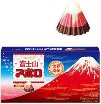 明治チョコレート 富士山アポロビッグ Meiji Chocolate Mt. Fuji Apollo Big