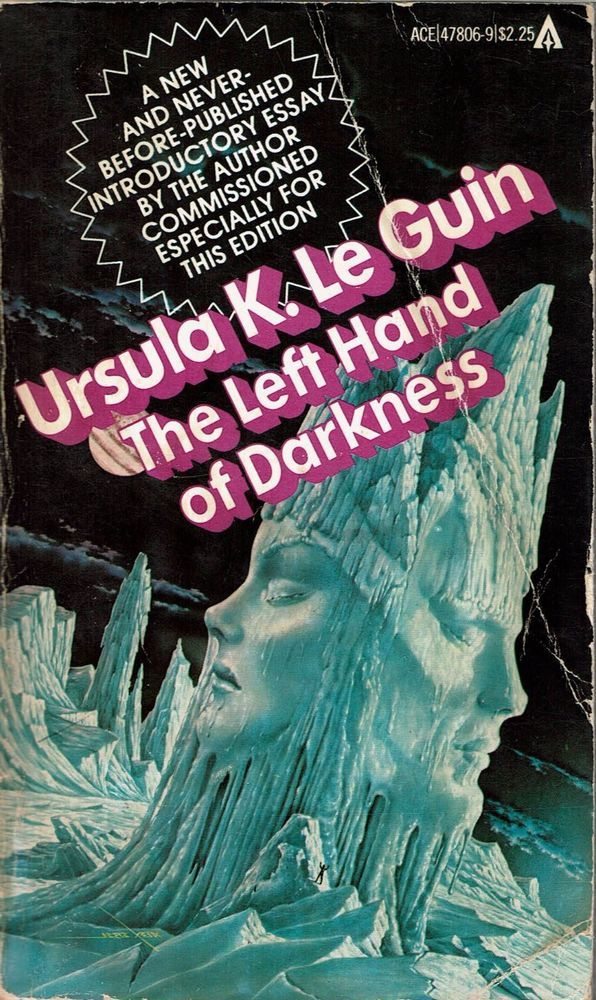 The Left Hand of Darkness (Paperback) by Ursula K. Le Guin - 1982, Ace