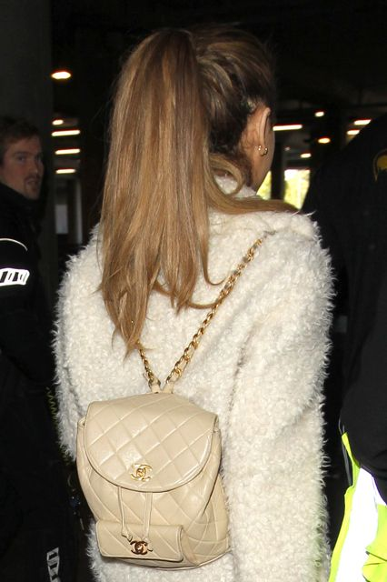 The Top 13 Conspiracy Theories About Ariana Grande's Ponytail #refinery29  http://www.refinery29.com/ariana-grande-ponytail-pictures#slide11  The nuclear launch codes are located beneath Ariana Grande's ponytail. In the Chanel bag, obvs.