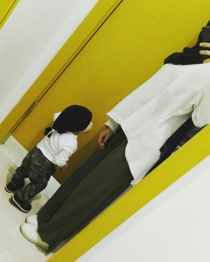 Anne oğul kombini 😉 #hijab