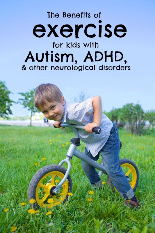 The Benefits of Exercise for Kids with Autism, ADHD and Other Neurological Disorders | At Race Pace --- http://tipsalud.com -----