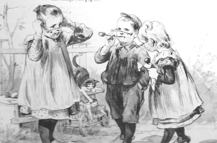 Onderwijsgeschiedenis - Een romantische beschrijving van het leven op een dorps-school ruim 100 jaar gelden