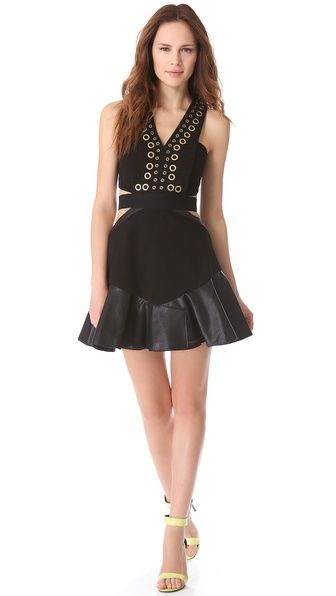 This is so Carrie Bradshaw. I love it! Three Floor Holy Chic Dress