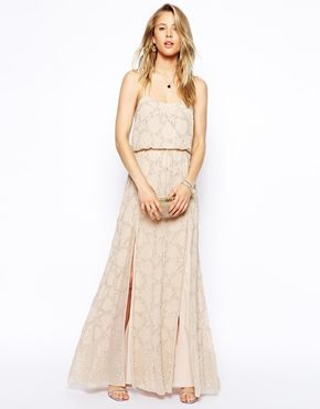 Image 1 of Needle & Thread Constellation Maxi Dress  http://us.asos.com/Needle-Thread/Needle-Thread-Constellation-Maxi-Dress/Prod/pgeproduct.aspx?iid=3889111&cid=14253&Rf900=1465&Rf-300=1880&sh=0&pge=1&pgesize=204&sort=-1&clr=Vintagepinksilver&totalstyles=869&gridsize=3