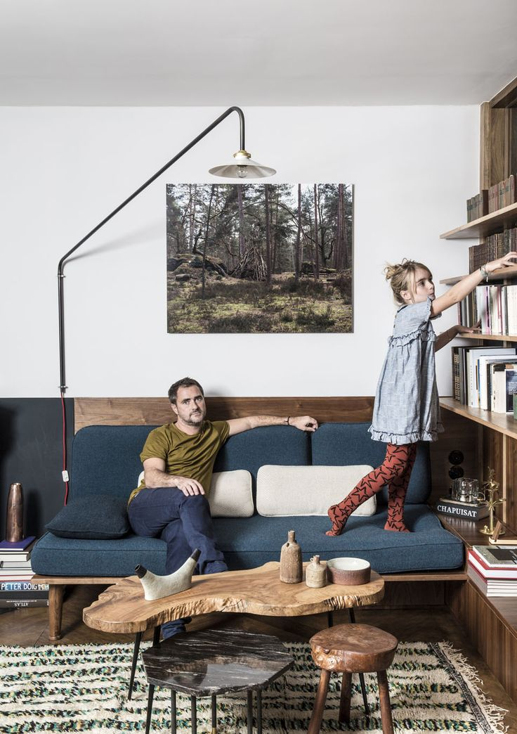 Immersion chez l'archi-designer François Doll et sa fille Lilou Photo : Louise Desrosiers