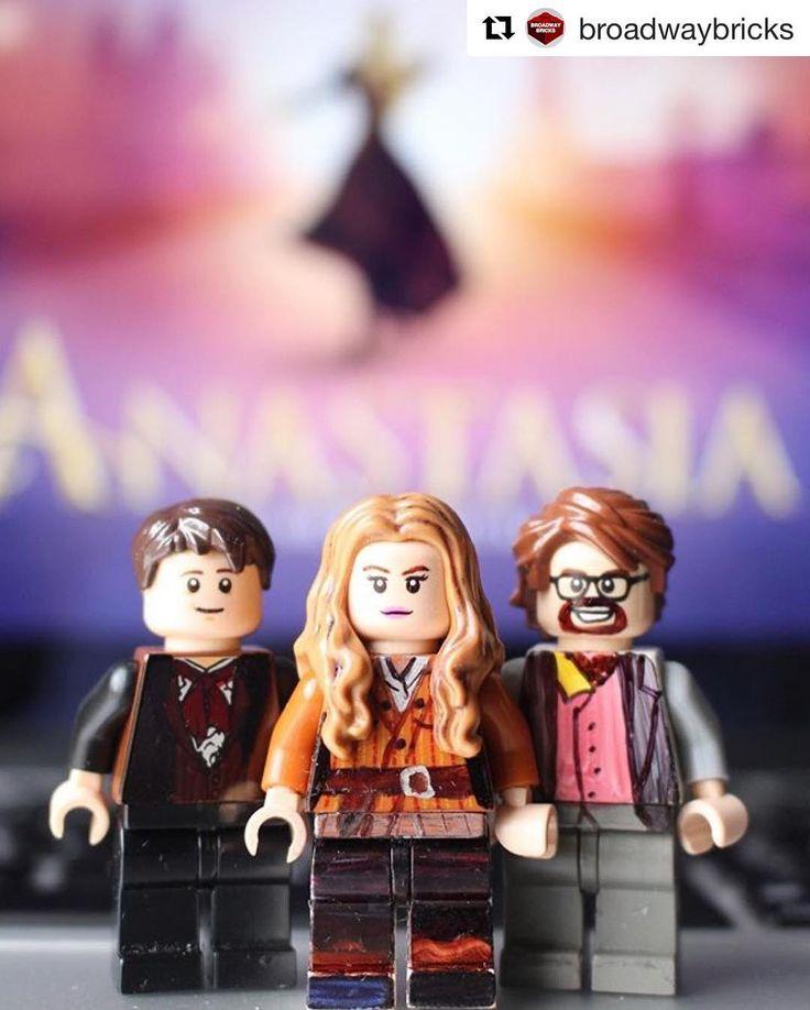 Funnnnn! Thanks for turning @anastasiabway into @lego, @broadwaybricks. . . . #broadway #nyc #nyctheatre #newmusical #musicaltheatre #musicals #broadwaymusical #lego #legoart #art #style #anastasia #fanastasia #fanastasias @fanastasias