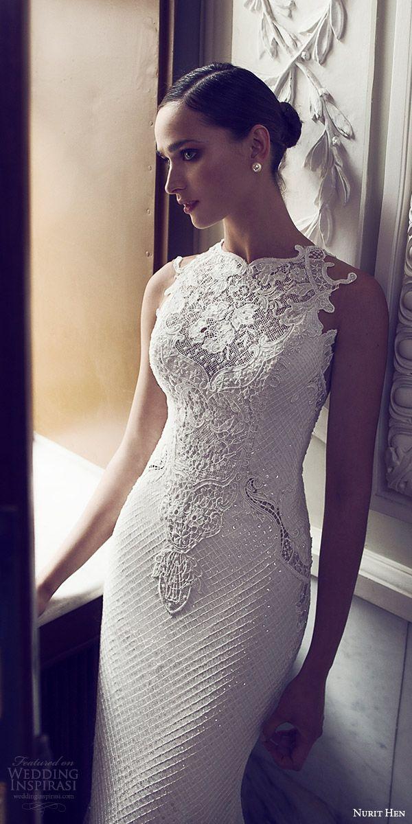 amelia sposa 2017 bridal sleeveless sheer bateau sweetheart neckline heavily embellished bodice elegant mermaid wedding dress illusion keyhole back chapel train (silvia) zv