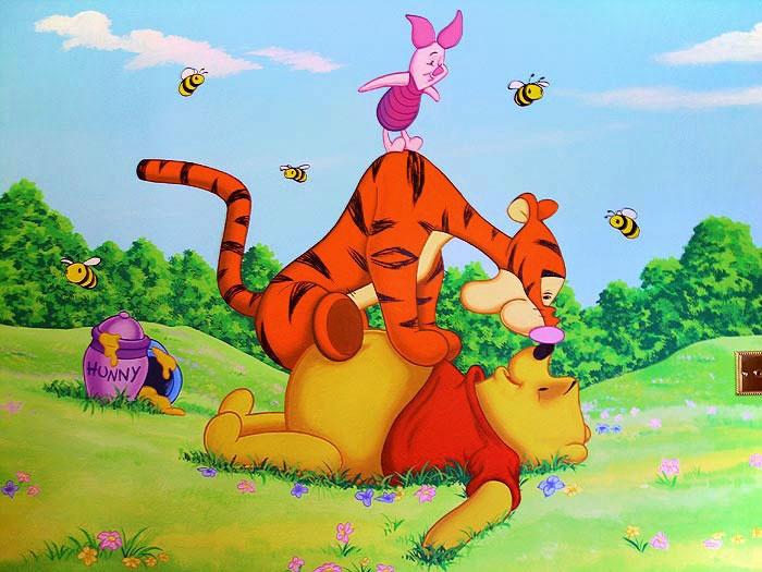 pooh-tigger-piglet-mural.jpg (700×525)