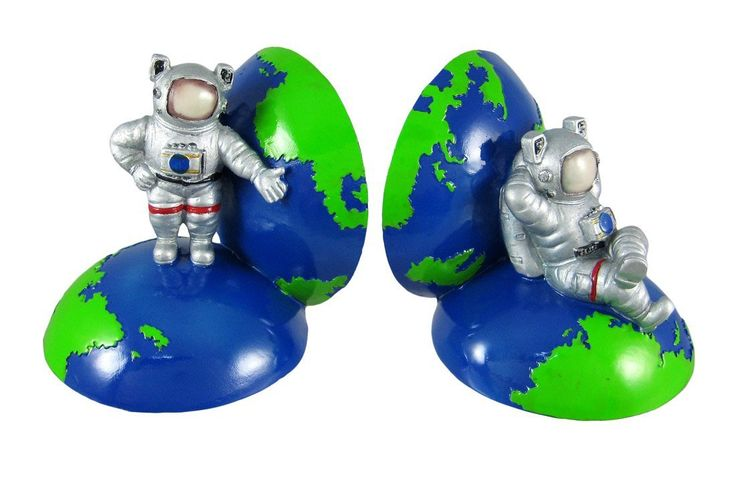 Cool Astronaut Globe Bookends Book Ends Space Nasa Space