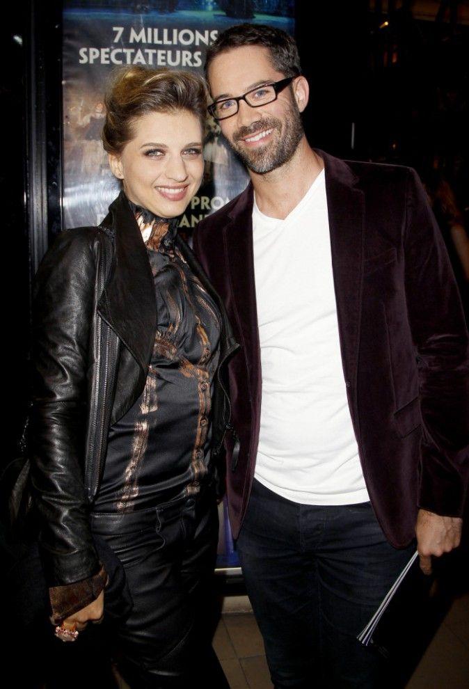 """Amandine Bougeois & Emmanuel Moire lors de la Première de Gala du Spectacle """"Le Bal des Vampires"""" au Théâtre Mogador - 16 Octobre 2014"""