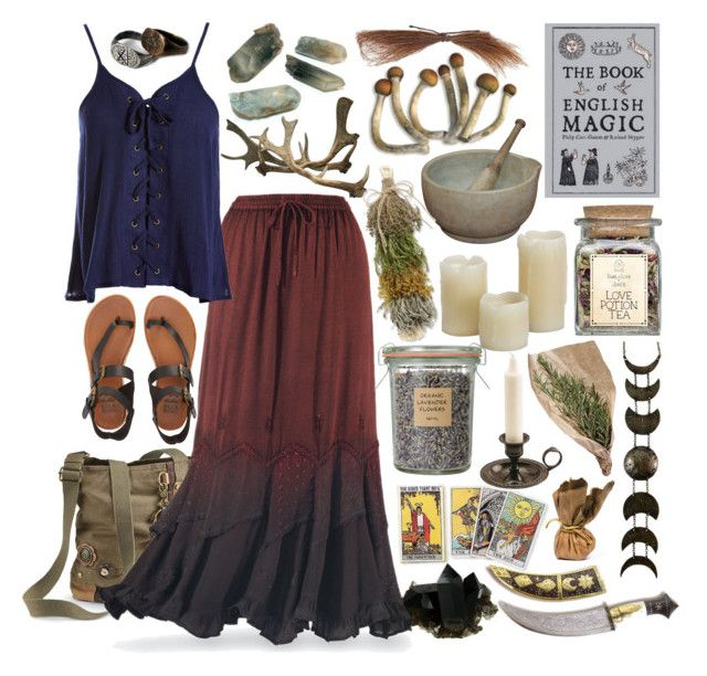 """Nature worshiper"" by beautyandstylefox ❤ liked on Polyvore featuring Sans Souci, Billabong, CO, Inglow, hippie, nature, pagan and wicca"
