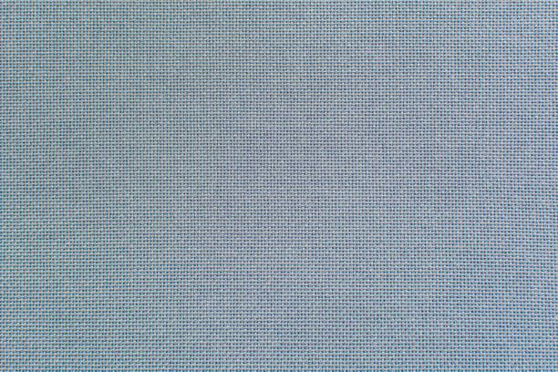 light blue flax fiber linen texture for the background fabric of raw
