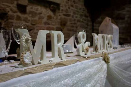 Top Table Mr & Mrs