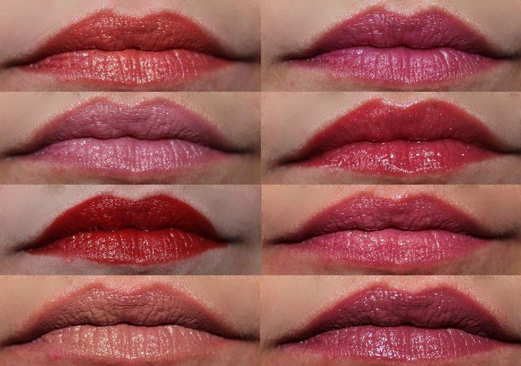 Ma collection de Rouge à lèvres