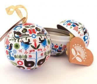 Openable Kiwi Birds Christmas Ornament