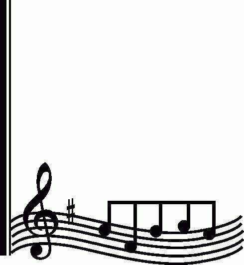 Music Note Border Clipart Clipart Panda Free Clipart