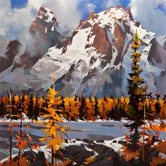 Wiwaxy Peaks, Opabin Plateau, by Michael O'Toole