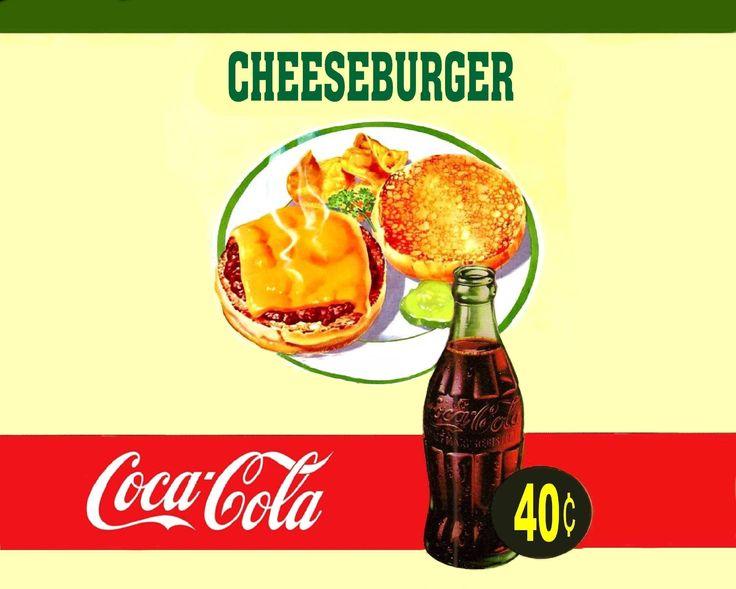 coca cola and hamburg
