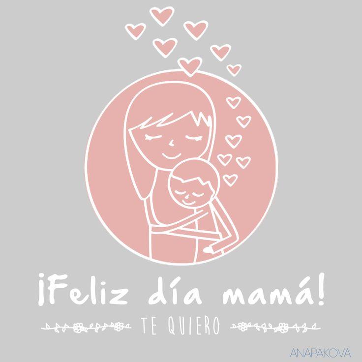 Día de la madre #Mamá #diadelamadre #mom #fetesdesmeres #mere