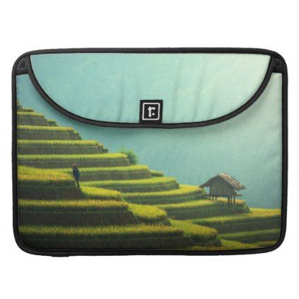 #country - #China agriculture rice harvest MacBook pro sleeve