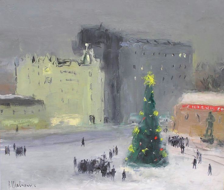"alexander shevchenko ""moscow before new year"""