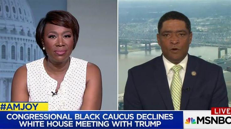 Congressional Black Caucus Chairman, Rep. Cedric Richmond, joins Joy Reid to discuss why the CBC turned down the invitation to meet with the president offered through Trump aide Omarosa Manigault.