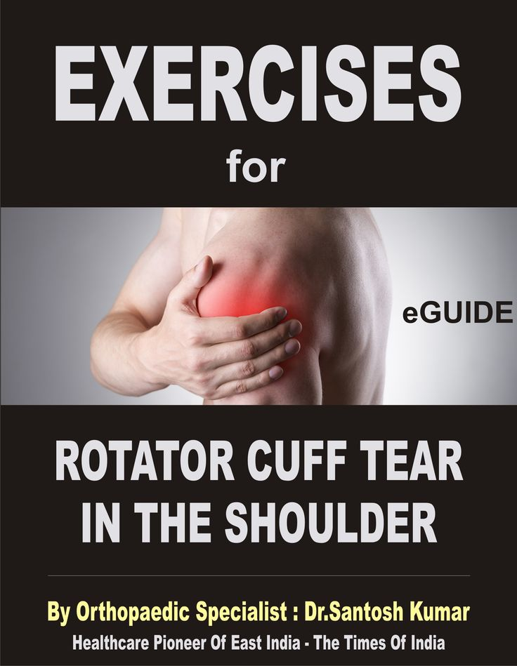 Simple but Effective Exercises for Rotator Cuff Tear of Shoulders !  Click here : bit.ly/ExExercises-For-Rotator-Cuff-Tear