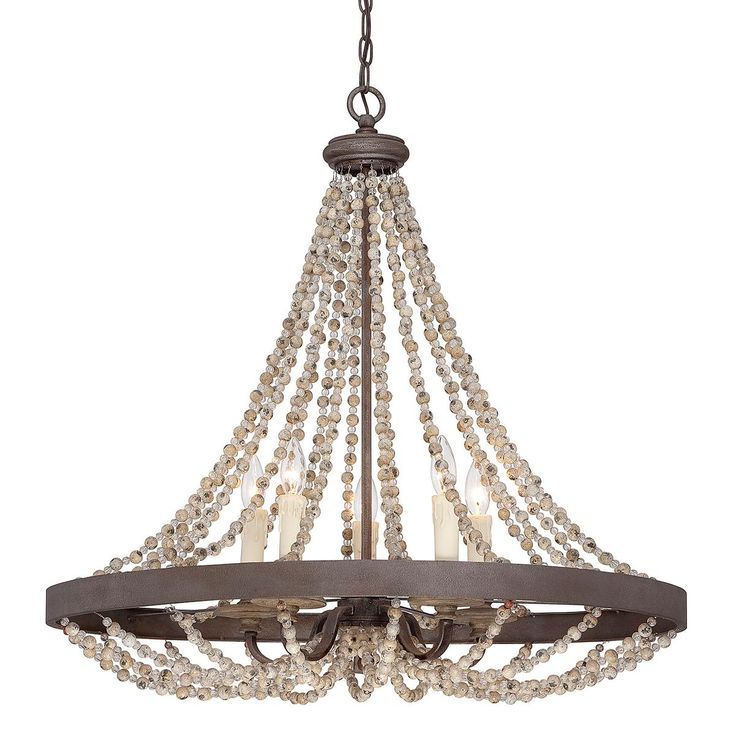 french country pendant lighting. Rustic French Country Beaded Pendant Lighting