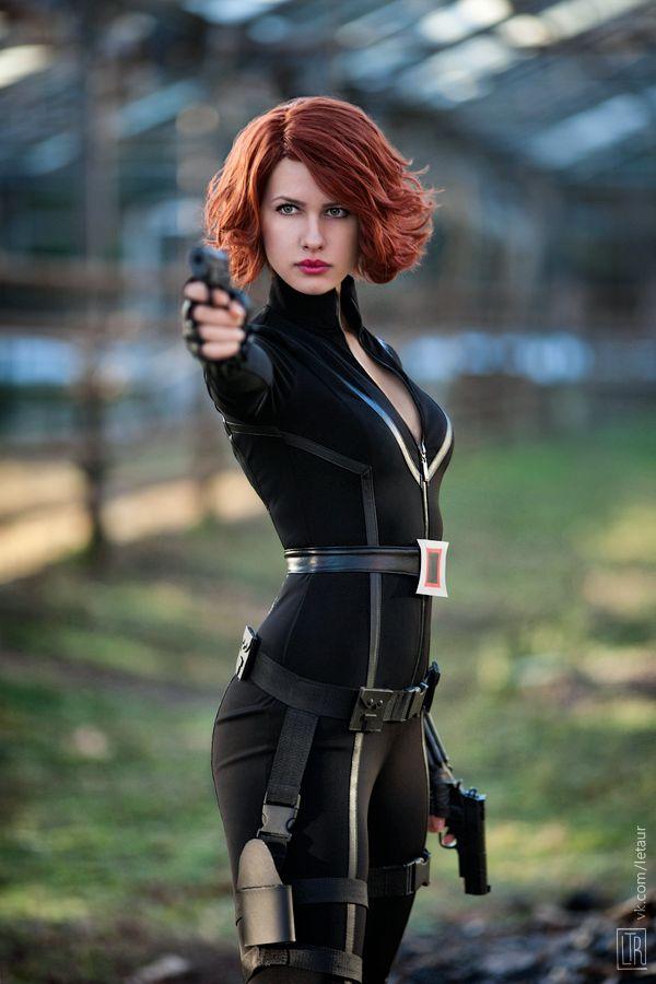 vickytey:  New my Black Widow from Avengers photo~http://karenscarlet.deviantart.com/