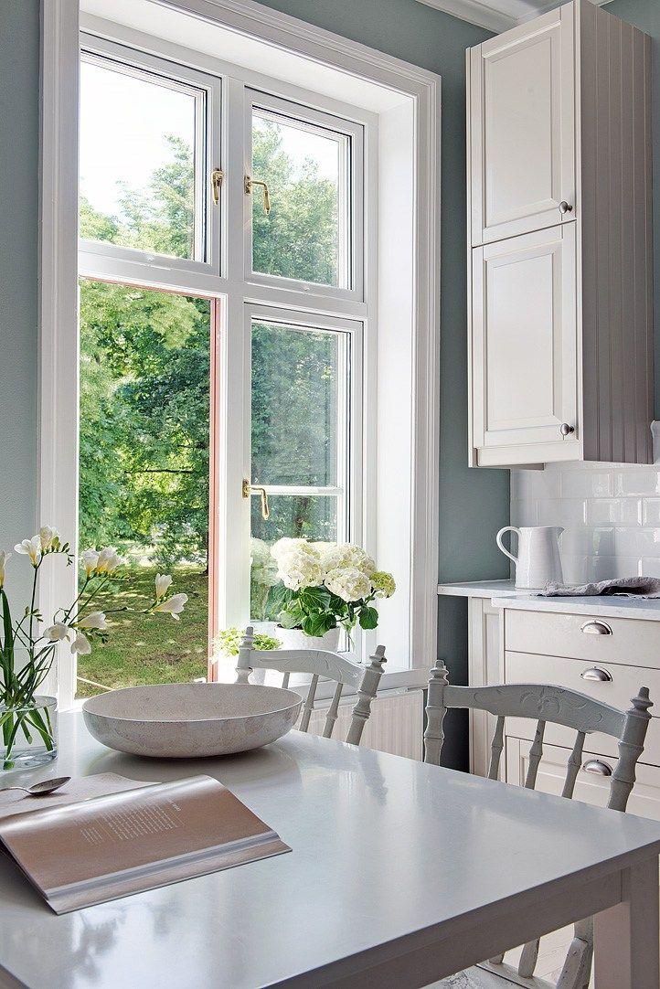 17 mejores ideas sobre cocinas blancas rústicas en pinterest ...