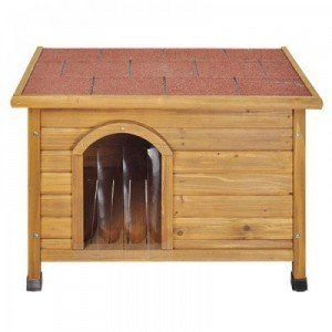 Doggy Shack Flat Roof Kennel, easy to construct and roof lifts off so easy to clean!