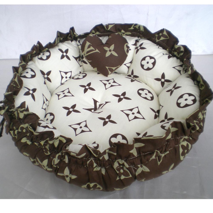 Louis Vuitton Cat Bed Fashion dog carrier, Cat bed