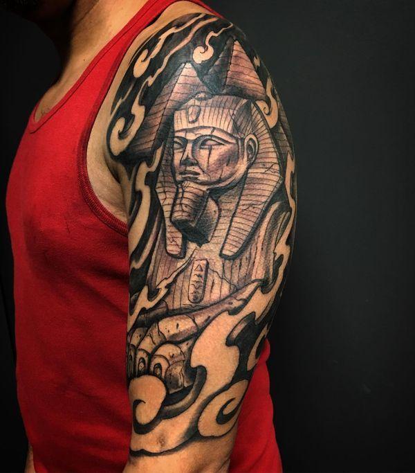 Best 25 egyptian tattoo sleeve ideas on pinterest egypt for Egyptian tattoo flash
