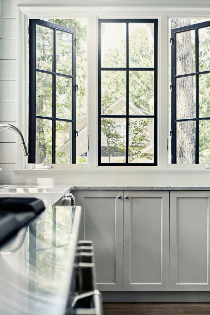 Not sure how to incorporate a black interior window finish into your spaces? Here are a few tips: