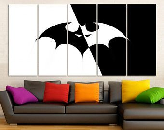 Unique Batman Wall Art Ideas On Pinterest Batman Room - Superhero wall decalsbestcity wall stickers ideas on pinterest batman stickers