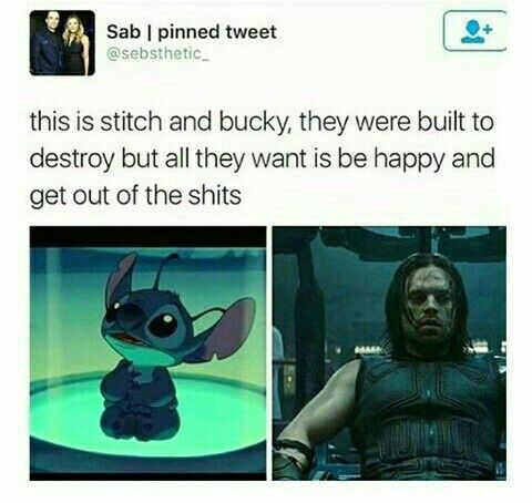 In Love With Bucky Barnes