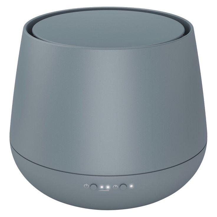 Stadler Form Aromatherapy Oil Diffuser Metal Grey