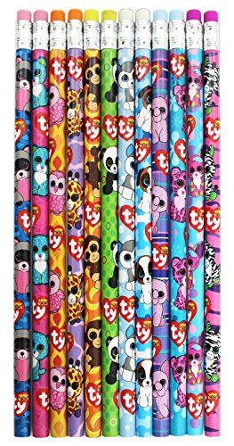 Ty Beanie Boo's Number 2 Lead Pencils, 7.5 x 0.5 Inches, Pack of 12, Assorted Character Designs, 815-6 Ty Beanie Boos http://www.amazon.com/dp/B014UZBBKI/ref=cm_sw_r_pi_dp_8t7qwb0SX9XR8