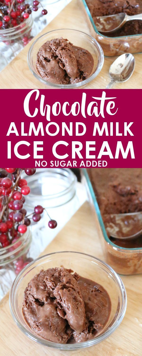 This paleo, keto, and low carb chocolate almond milk ice cream is freezer ready in less than 90 seconds and has the perfect dark chocolate taste! If you're dreaming of a rich and creamy ice cream that is dairy-free, sugar-free, and easy to make, look no further!