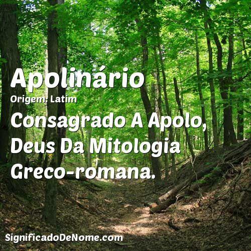 Consagrado A Apolo, Deus Da Mitologia Greco-romana.