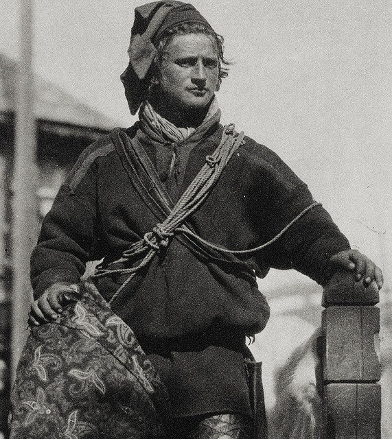A young Sami man from Finnmark Norway c. 1880 - 1910 sm by saamiblog, via Flickr