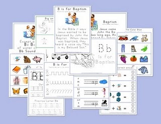 Free LDS-based preschool curriculum - these would be great for quiet activities during Sacrament meeting too.