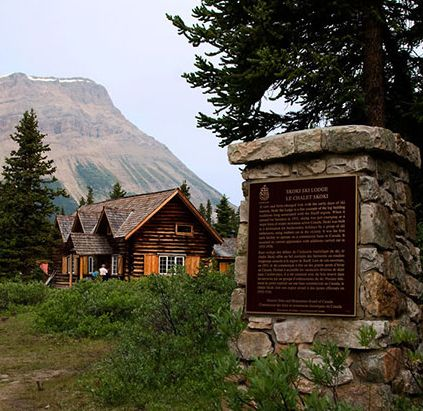 Hiking or horseback - the only way to reach these Banff Lodges. http://www.banffquest.com/banff-accommodations.html