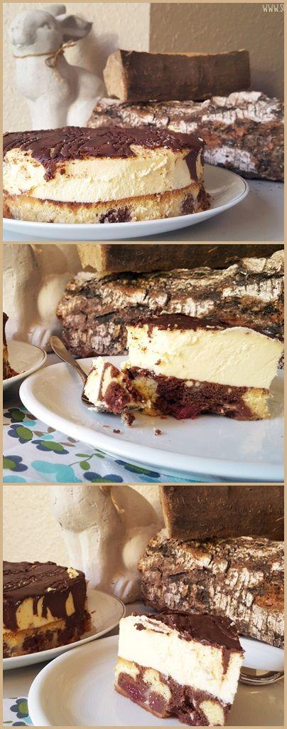Donauwellen-Cheesecake