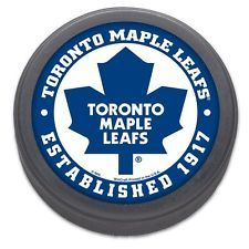 Toronto Maple Leafs Established 1917 NHL Collectors Puck
