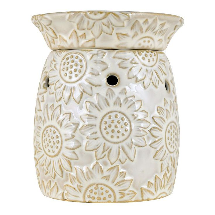 SONOMA LIFE + STYLE SUNFLOWER WAX WARMER (YELLOW)