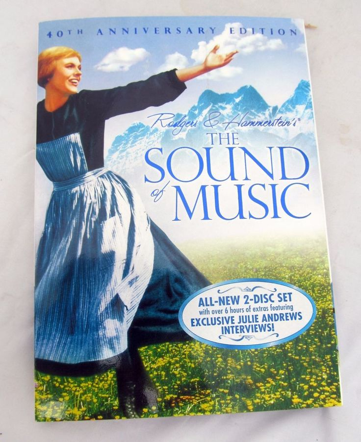 The Sound of Music DVD 2-Disc Set 40th Anniversary Edition Julie Andrews