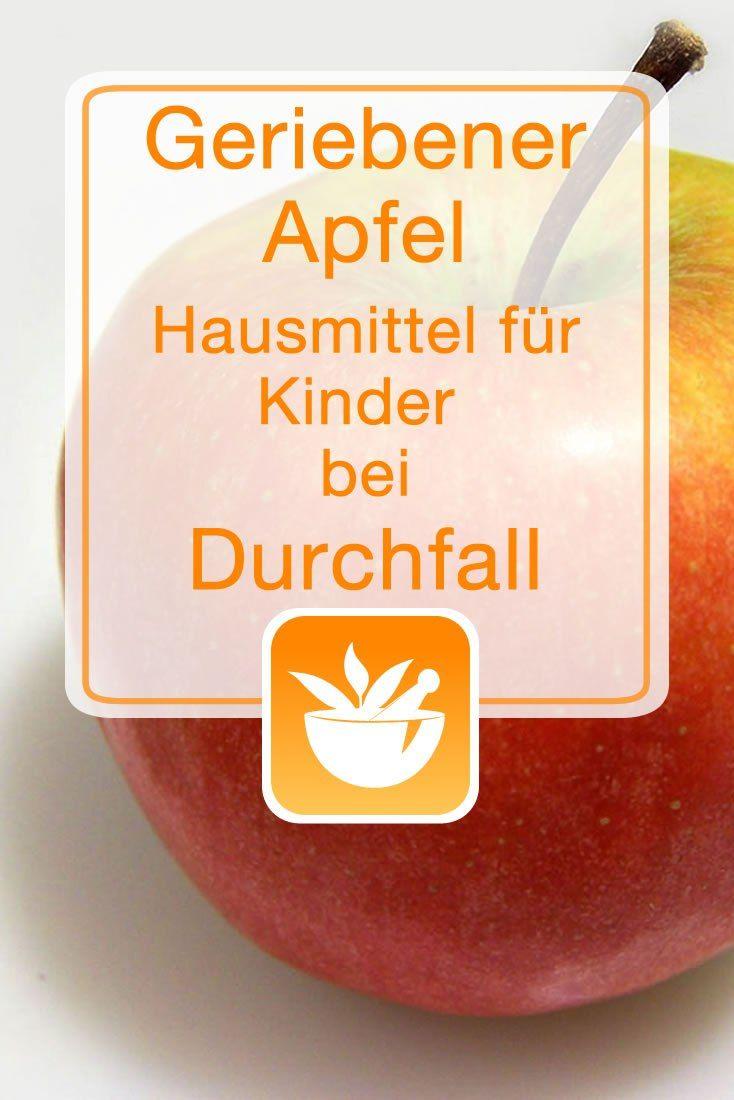Geriebener Apfel